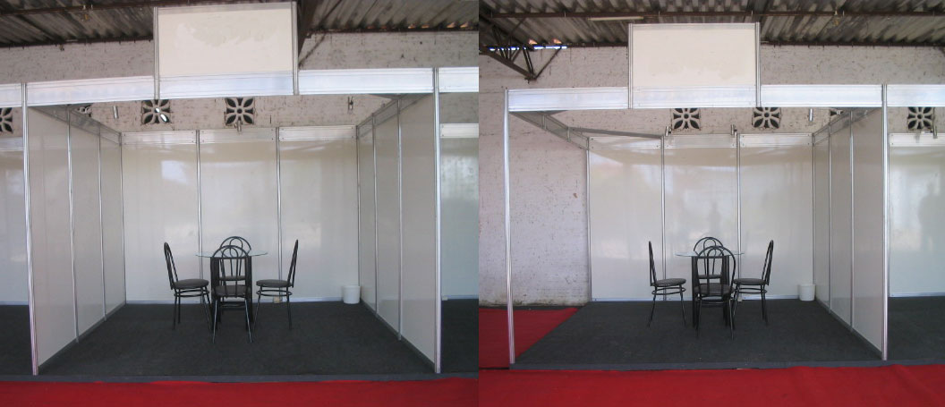 Exhibition Booth Structure : Ismb fortaleza brazil august